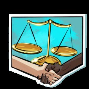 icona simbolo di legalità e solidarietà