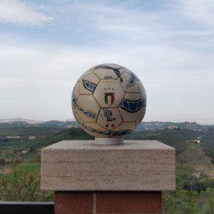 Pallone esordio Barzagli con la nazionale italiana
