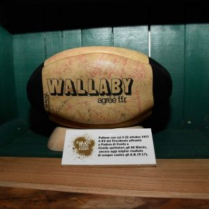 Pallone Pallone Wallaby XV del Presidente contro gli All Blacks