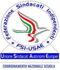 logo Coordinamento Nazionale Scuola della Federazione Sindacati Indipendenti